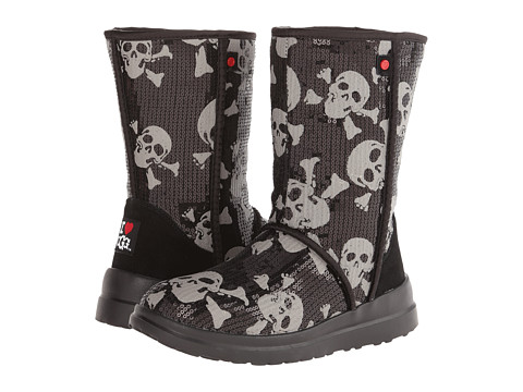 UGG - Kisses Short (Black Sequin Skulls) Women's Boots