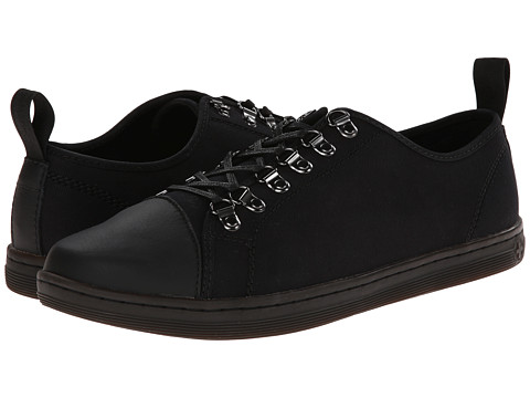 Dr. Martens - Kellan Lace To Toe Shoe (Black Canvas Game On) Men