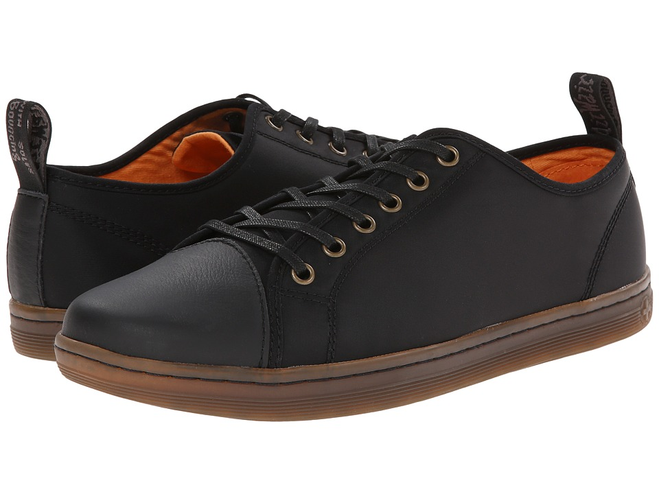 Dr. Martens - Gunther Lace to Toe Shoe (Black Aviator Nylon Game On) Men's Lace up casual Shoes