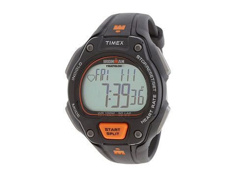 Timex Ironman Road Trainer Watch (Silver Digital) Watches
