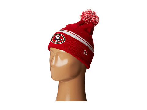 New Era - Cuff Flip - San Francisco 49ers (Red) Beanies