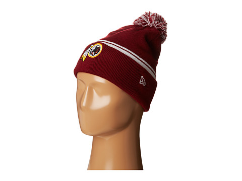 New Era - Cuff Flip - Washington Redskins (Dark Red) Beanies