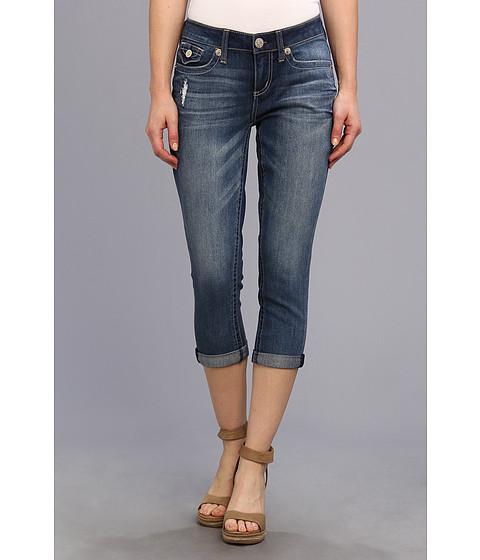 Seven7 Jeans 22 Easy Crop w/ Flap (Grunge) Women's Jeans