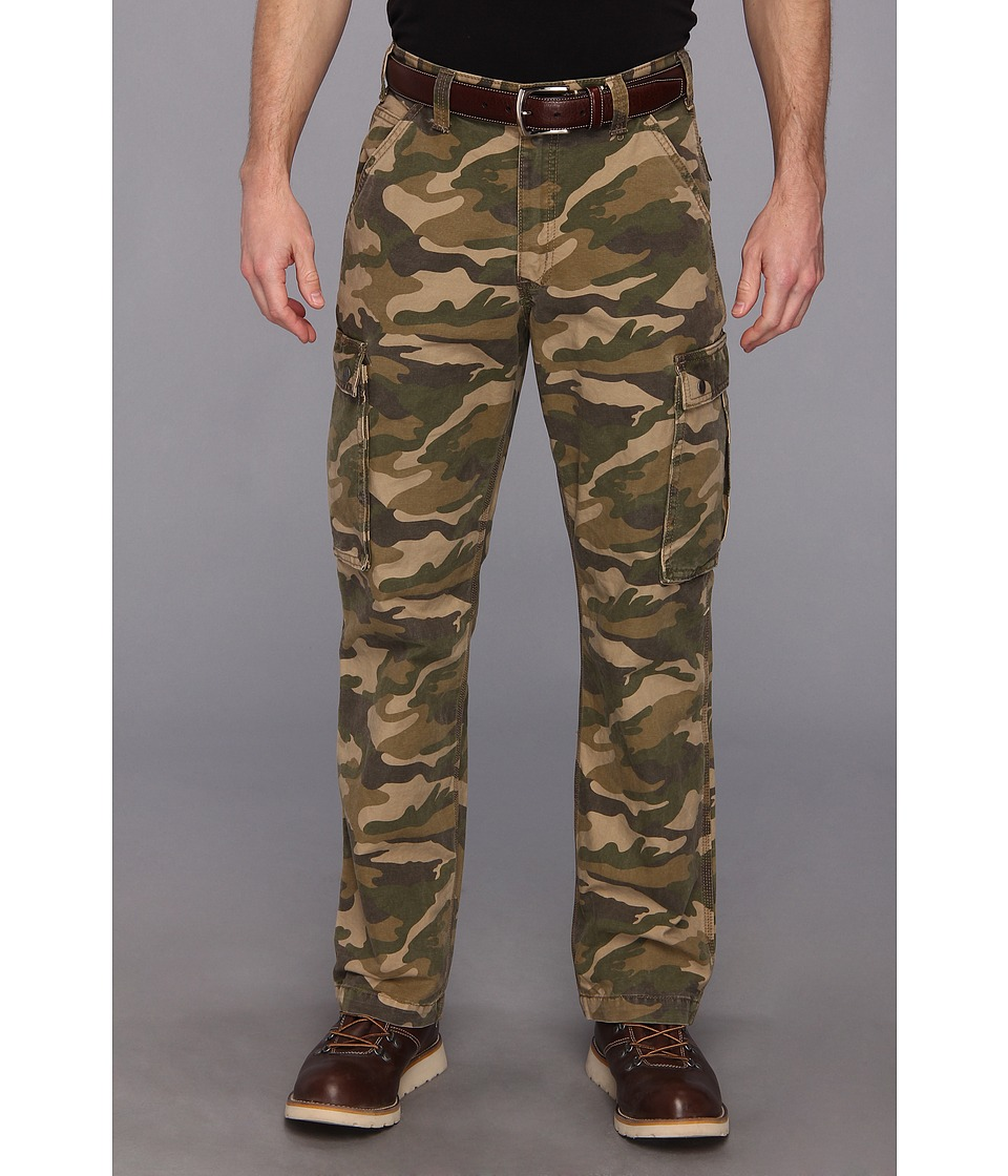 Carhartt - Rugged Cargo Pant (Khaki Camo) Men's Casual Pants