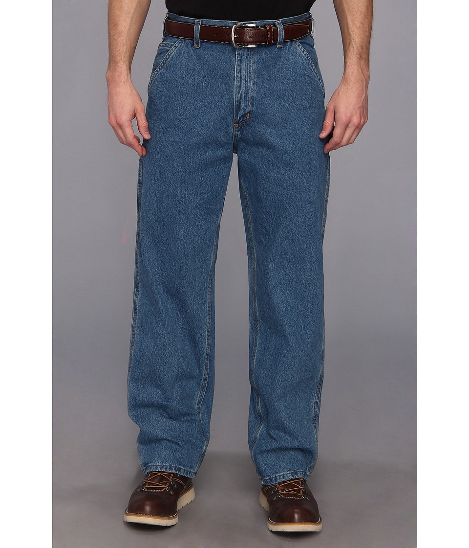 Carhartt - Original Fit Work Dungaree (Stonewash) Men's Jeans