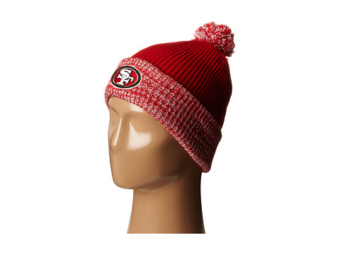 New Era - Flurry Frost - San Francisco 49ers (Red) Beanies