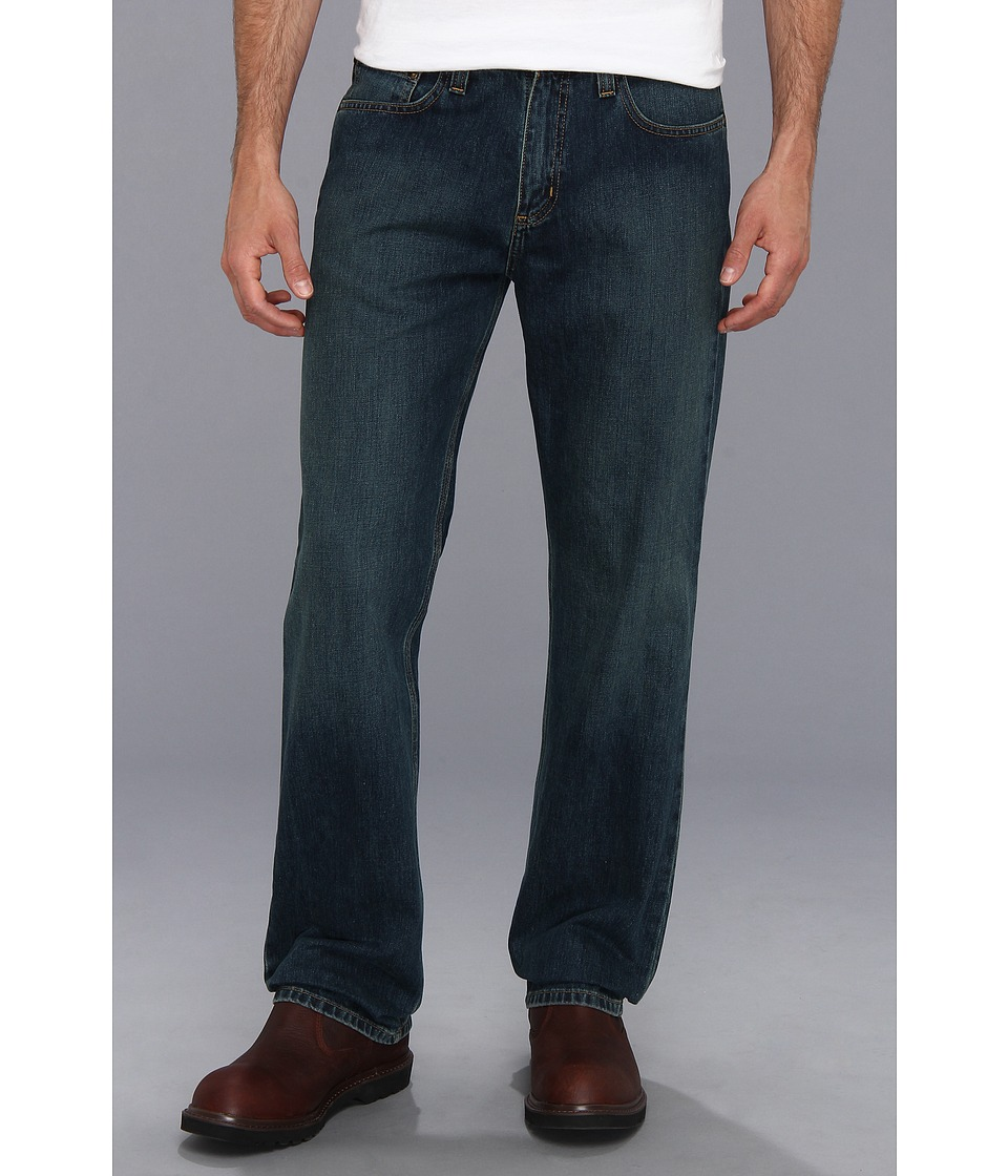 Carhartt - Relaxed Straight Jean - B320 (Weathered Blue) Men's Jeans
