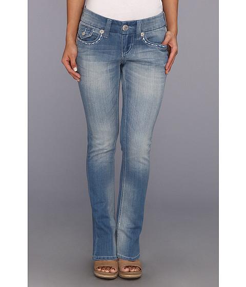 Seven7 Jeans Petite Rocker Slim in Coast (Coast) Women's Jeans