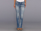 Seven7 Jeans - Petite Rocker Slim in Coast (Coast) - Apparel