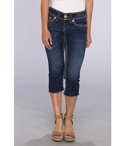 Seven7 Jeans Petite Dbl Dbl Crop in Hidden (Hidden) Women's Jeans