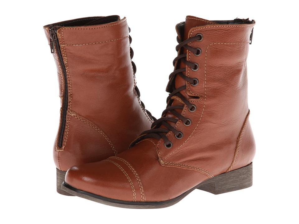 Steve Madden - P-Kombat (Cognac Leather) Women