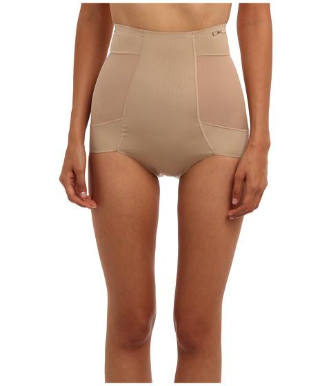 Donna Karan - Sensuous Body Hi Waist Hi Cut Brief (Nomad) Women's Underwear