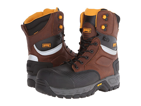 Magnum - Halifax 8.0 WP Composite Toe (Coffee) Men's Work Boots