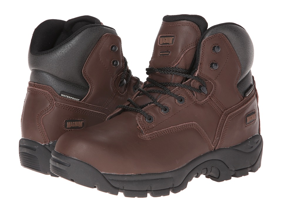 Magnum - Precision Ultra Lite II Wp Ct (Coffee) Men's Work Boots
