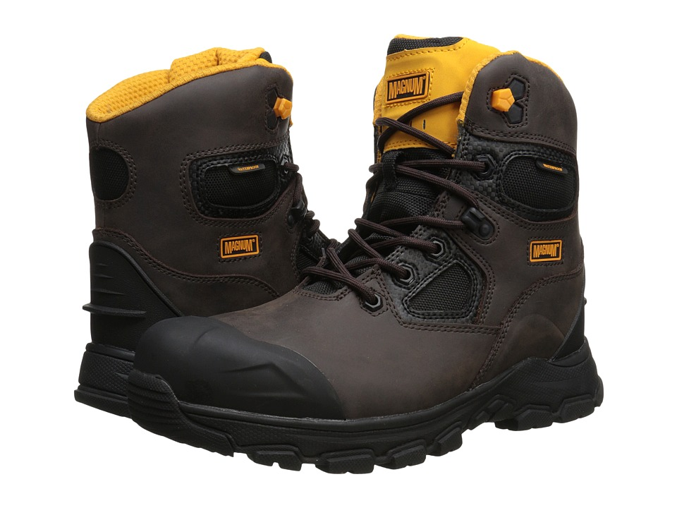 Magnum - Chicago 6.0 WP Composite Toe (Coffee) Men's Work Boots