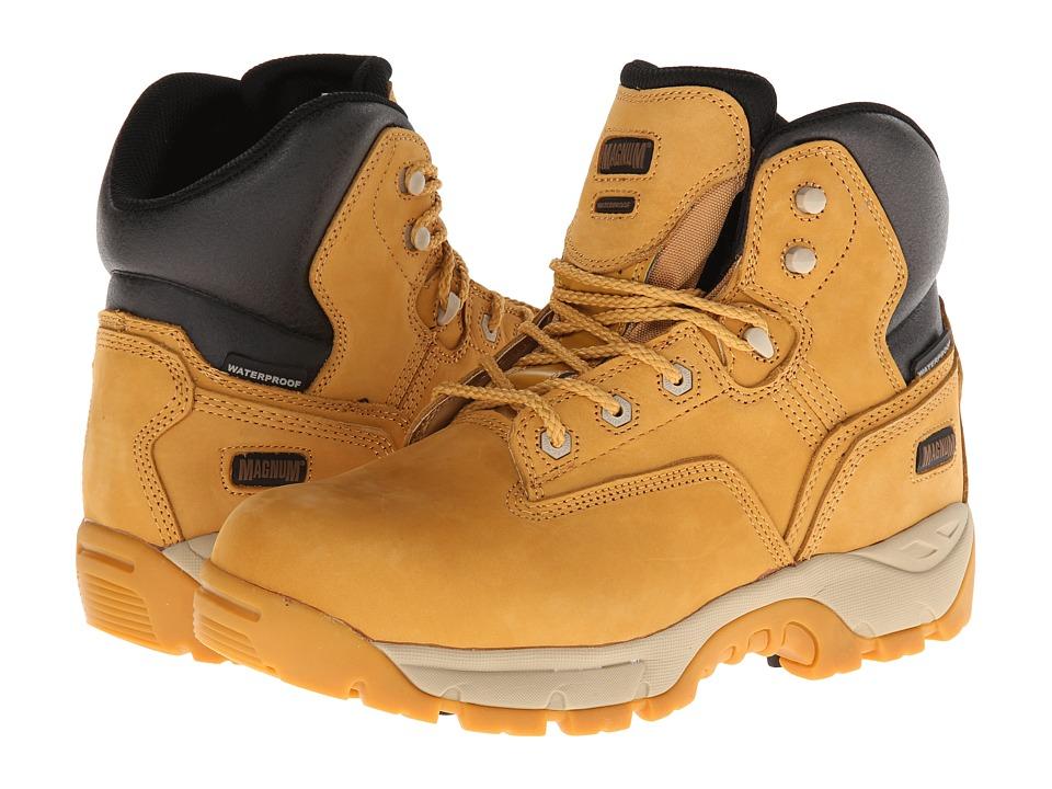 Magnum Precision Ultra Lite II Waterproof Composite Toe (Wheat) Men's Work  Boots