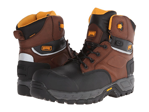 Magnum - Halifax 6.0 WP Composite Toe (Coffee) Men's Work Boots
