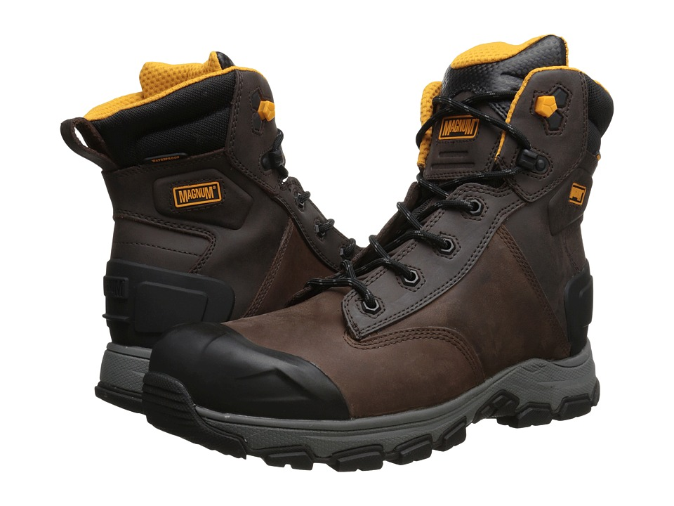 Magnum - Baltimore 6.0 WP Composite Toe (Coffee) Men's Work Boots