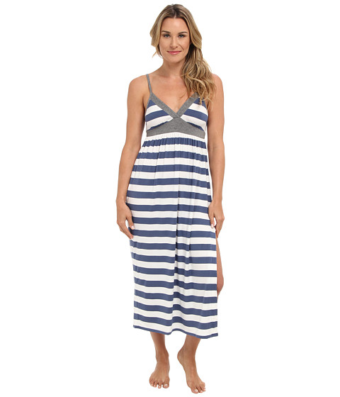 Splendid - Essential Maxi Nightgown (Chambray Rugby) Women