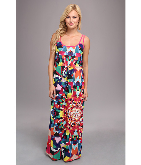 Yumi - Kaleiodoscope Maxi Dress (Multi) Women's Dress