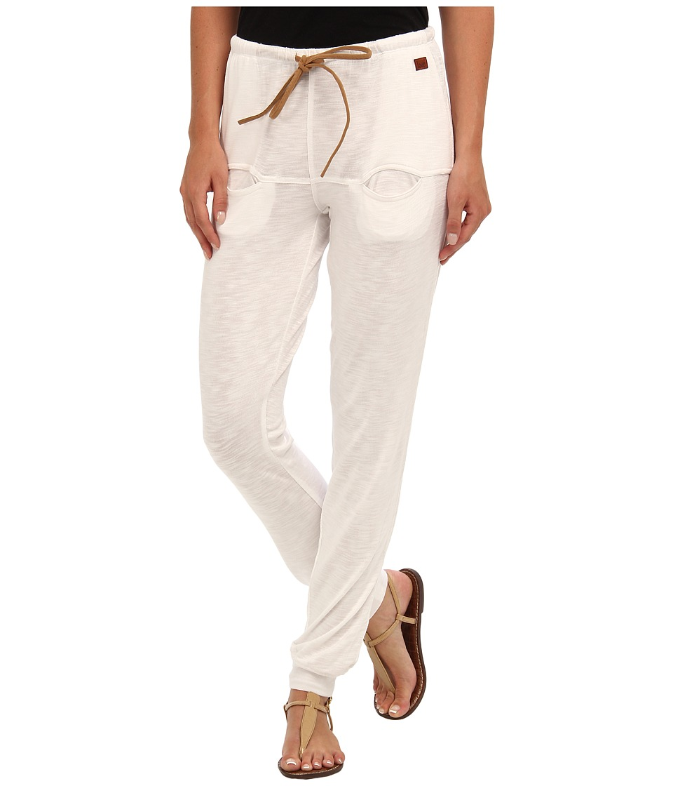 Peace Love World - I Am Love White Boheme Euro Pant (White) Women