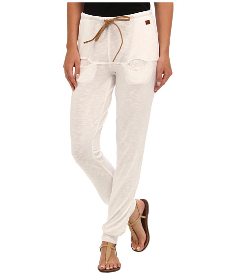 Peace Love World - I Am Love White Boheme Euro Pant (White) Women's Casual Pants