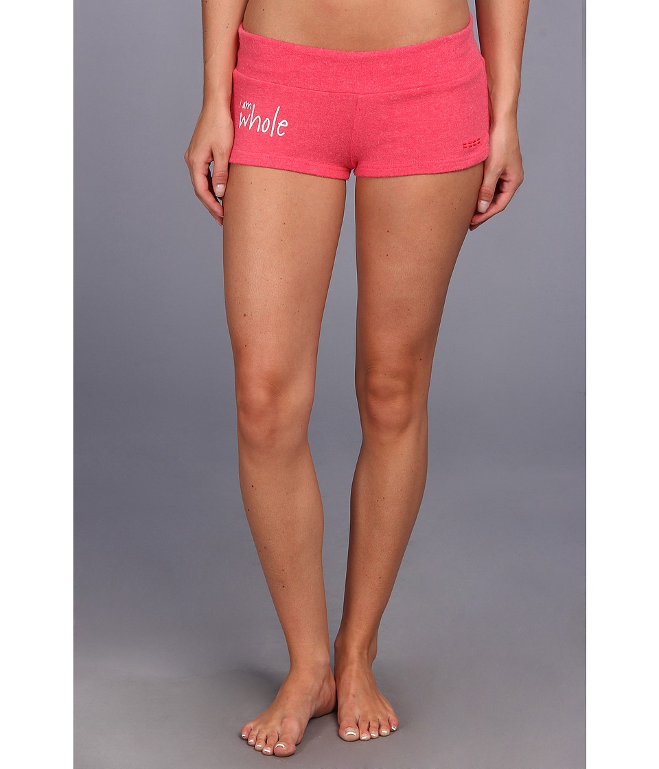 Peace Love World - Comfy Shorts (Deep Pink) Women's Shorts