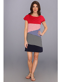 SALE! $49.99 - Save $49 on Yumi Play on Stripes Tunic (Red Navy) Apparel - 49.51% OFF $99.00