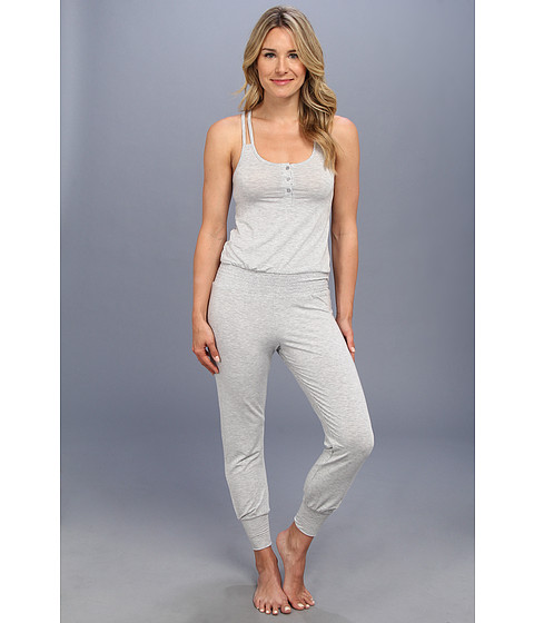 Splendid - Genie Romper (Heather Grey) Women's Jumpsuit & Rompers One Piece