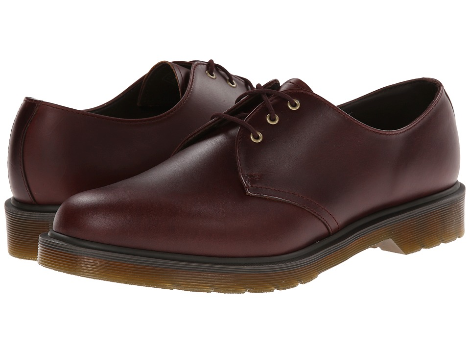 Dr. Martens - 1461 PW 3-Eye Shoe (Charro Brando) Men's Lace up casual Shoes