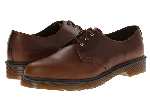 Dr. Martens - 1461 PW 3-Eye Shoe (Smokethorn Brando) Men's Lace up casual Shoes