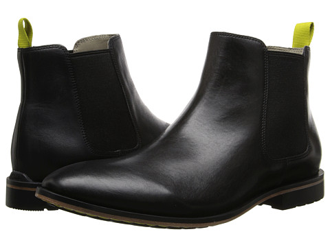 Clarks - Gatley Top (Black Leather) Men's Dress Pull-on Boots