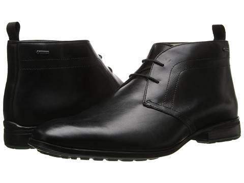 Clarks - Gleeson Hi GTX (Black Leather) Men