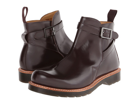 Dr. Martens - Kenton Dealer Boot (Oxblood Polished Smooth) Men's Pull-on Boots