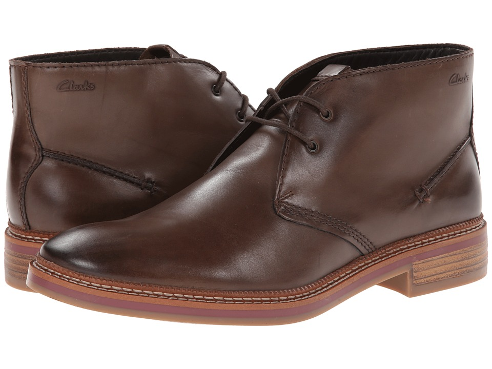 Clarks - Grimsby Hi (Tan Leather) Men