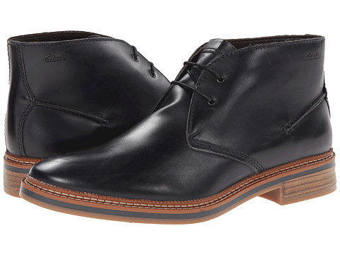 Clarks - Grimsby Hi (Midnight Leather) Men