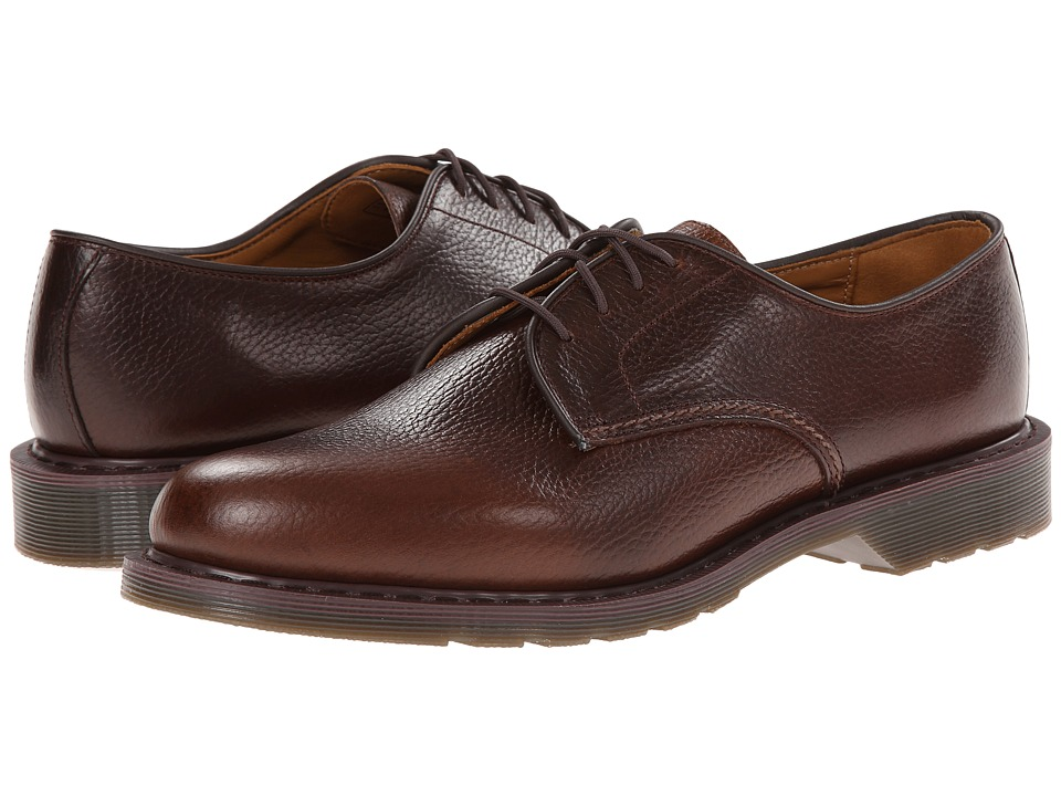 Dr. Martens - Octavius Lace Shoe (Dark Brown New Nova) Men's Lace up casual Shoes