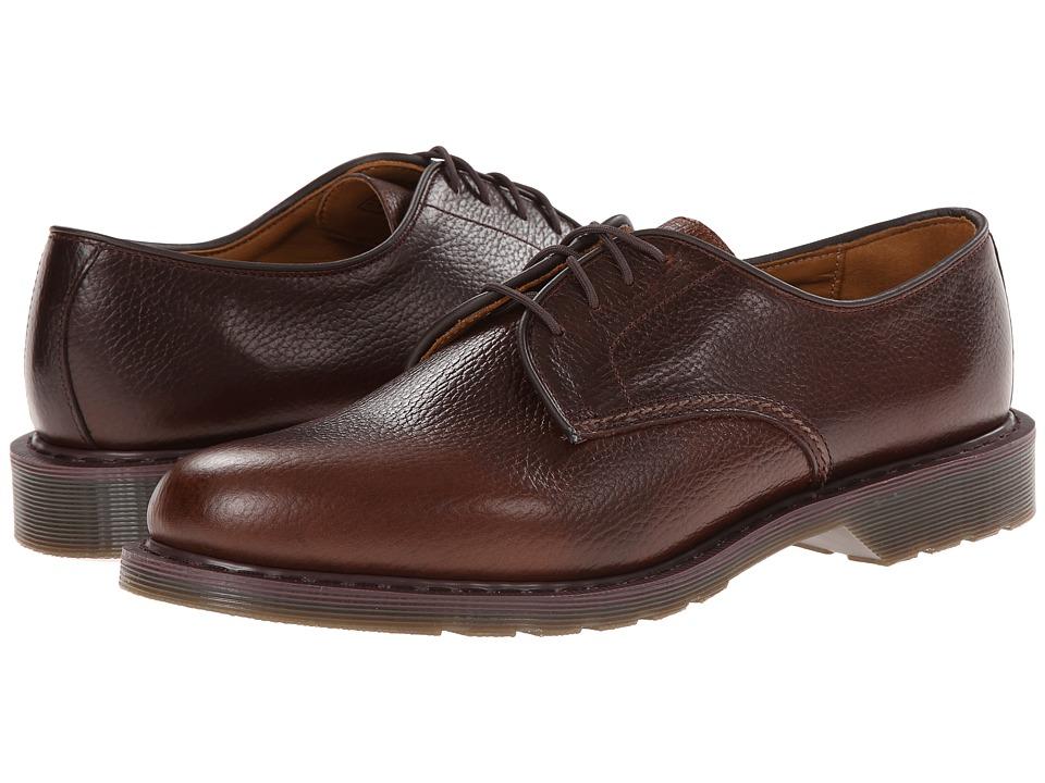 Dr Martens Men S Octavius Dark Brown Leather Shoe
