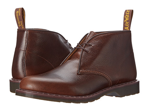 Dr. Martens - Sawyer Desert Boot (Dark Brown New Nova) Men's Lace-up Boots