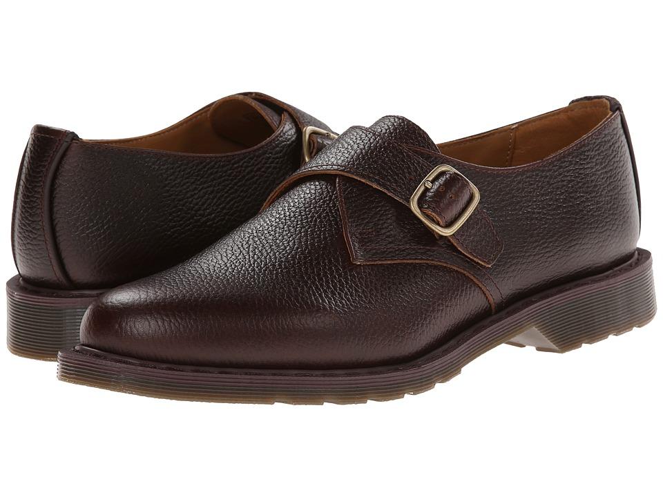Dr. Martens - Padraic Monk Shoe (Dark Brown New Nova) Men