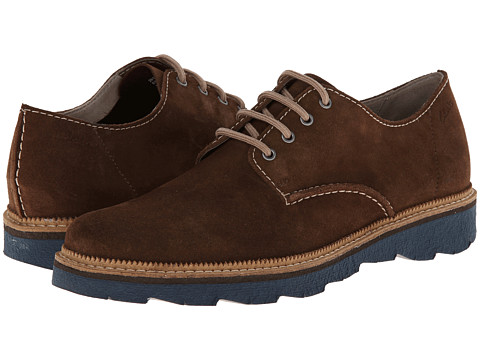 Clarks - Frelan Walk (Brown Suede) Men's Lace up casual Shoes