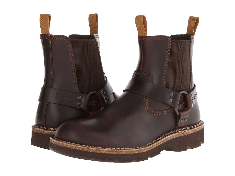 Clarks - Mellor Top (Dark Brown Leather) Men's Pull-on Boots