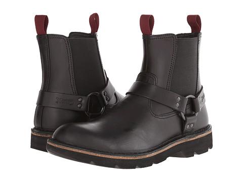 Clarks - Mellor Top (Black Leather) Men
