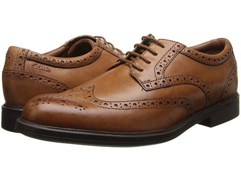 Clarks - Gabson Limit (Tan Leather) Men