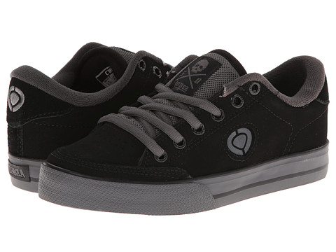 Circa - Lopez 50 (Black/Dark Gull 2) Men's Skate Shoes