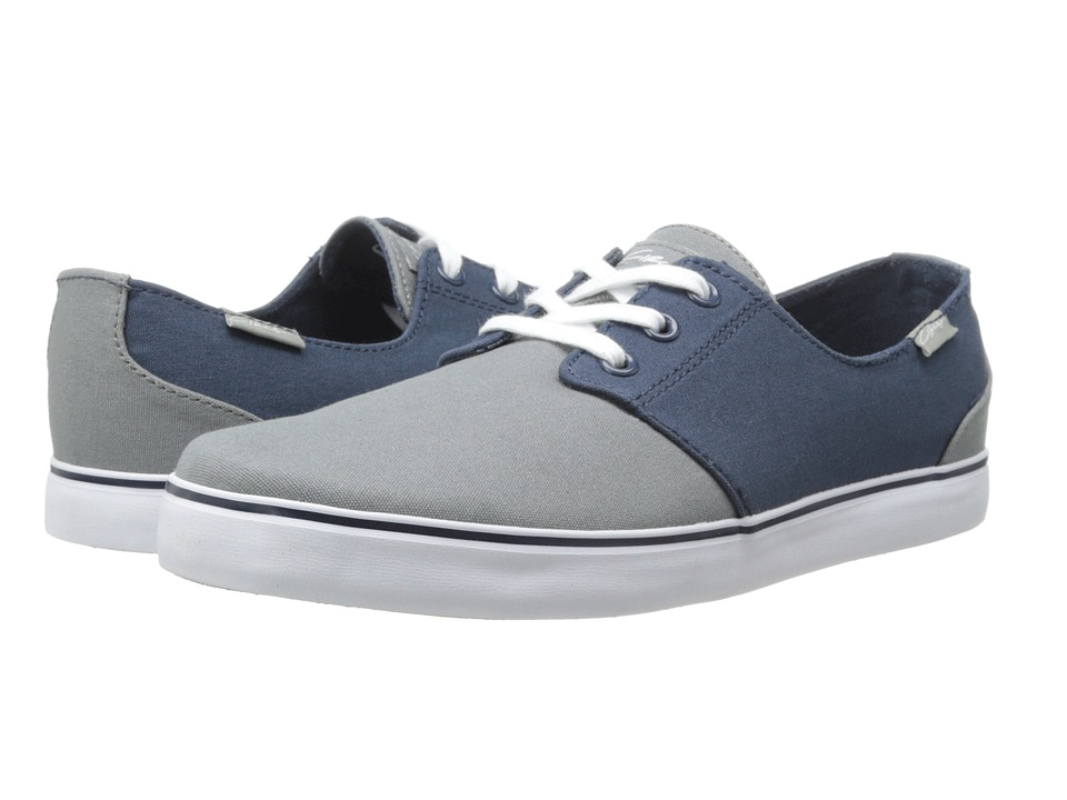 Circa - Crip (Gray/Mood Indigo) Men's Skate Shoes