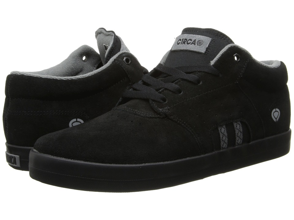 Circa - Baron (Black/Gray) Men's Skate Shoes