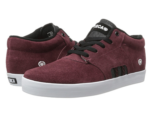 Circa - Baron (Oxblood Black) Men's Skate Shoes