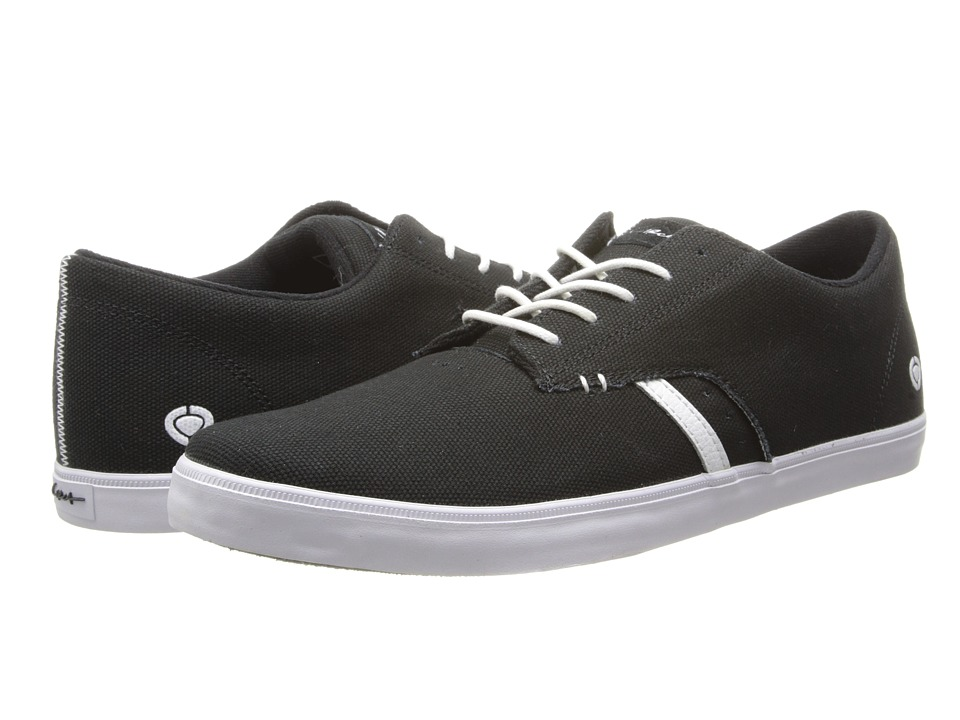 Circa - Del Monte (Black/White) Men's Skate Shoes