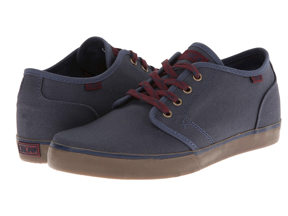 Circa - Drifter (Mood Indigo/Ox Blood) Men's Skate Shoes